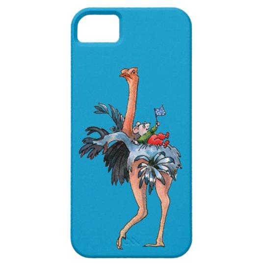 Ostrich Cartoon Bird - iPhone 5 case