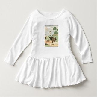 Ostrich Children's Illustrated Tee Shirt