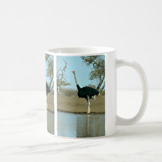 Ostrich Classic White Coffee Mug