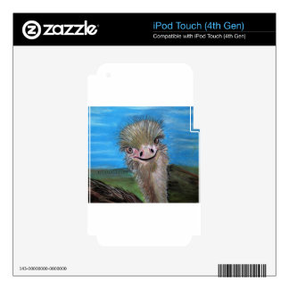 ostrich decals for iPod touch 4G