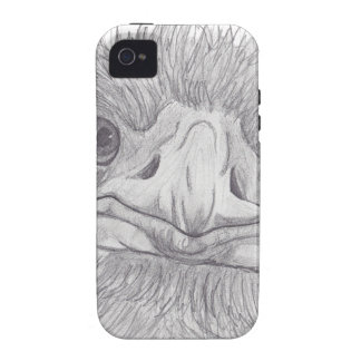 Ostrich Face iPhone 4/4S Covers