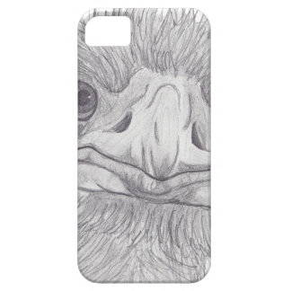 Ostrich Face iPhone 5 Cases