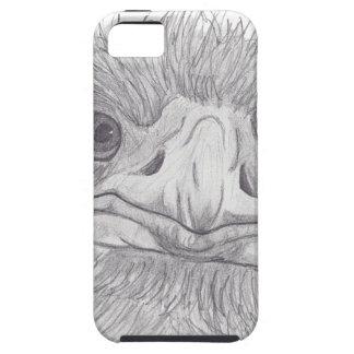 Ostrich Face iPhone 5 Case