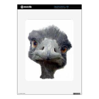 Ostrich Face iPad Skins