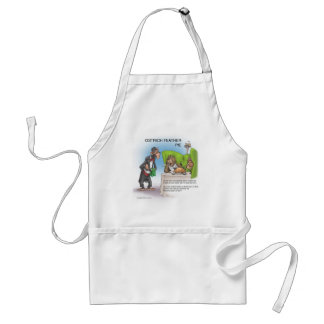 Ostrich Feather Pie Adult Apron