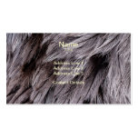 Ostrich Feathers Business Cards