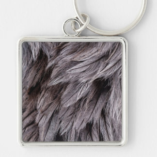 Ostrich Feathers Keychain