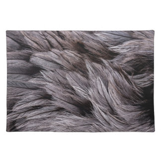 Ostrich Feathers Placemat
