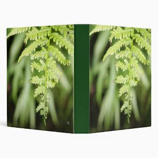 Ostrich Fern Vinyl Binder