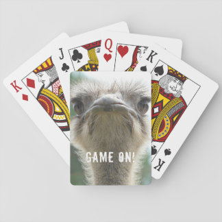 Ostrich GAME ON Playing Cards