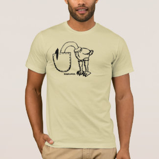 Ostrich Got Goosebumps T-Shirt