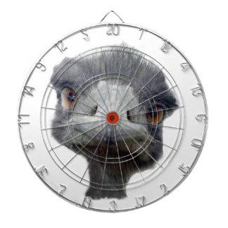 Ostrich head dartboard