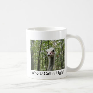 Ostrich Image Coffee Mug