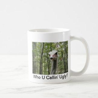 Ostrich Image Classic White Coffee Mug