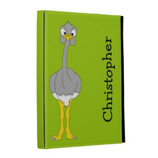 Ostrich iPad Case Template