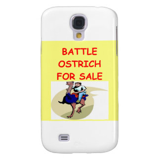ostrich joke galaxy s4 cover