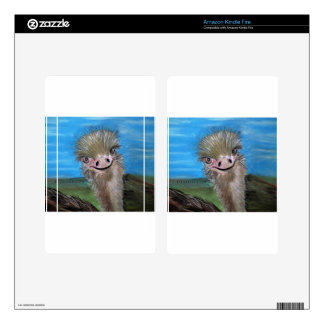 ostrich kindle fire skins