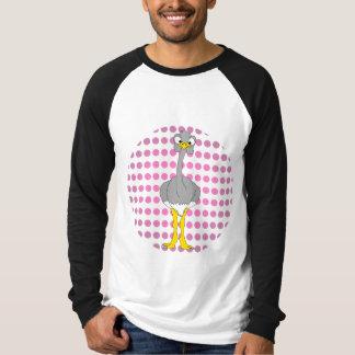 Ostrich Long Sleeve Ringer T-Shirt