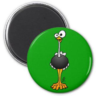 Ostrich Fridge Magnet