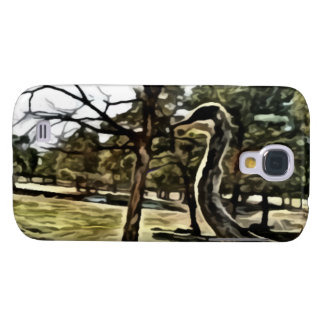 ostrich painting samsung galaxy s4 cover