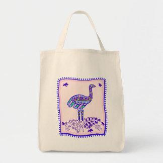 Ostrich Quilt Bag
