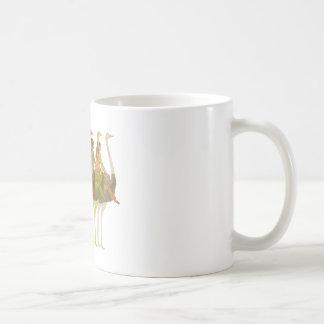 Ostrich Riding Coffee Mugs