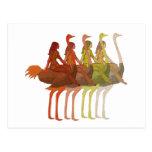 Ostrich Riding Postcards