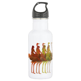 Ostrich Riding Water Bottle