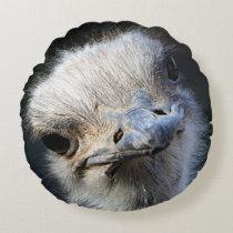 Ostrich Round Pillow