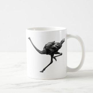 Ostrich Running Sketch Mug