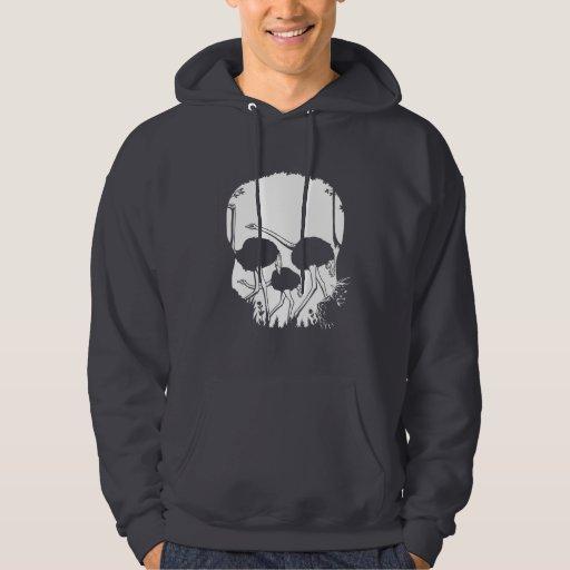 Ostrich Skull Illusion Pullover
