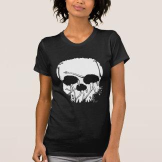 Ostrich Skull Illusion T Shirts
