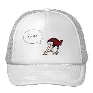 Ostrich Speaks Trucker Hats