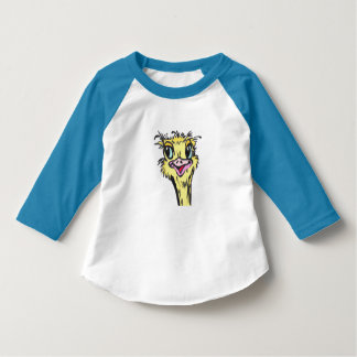Ostrich Toddler Bird T-shirt