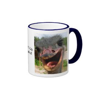 Ostrich What's Up Mug