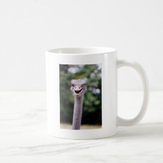 Ostrich Winking - Funny Classic White Coffee Mug