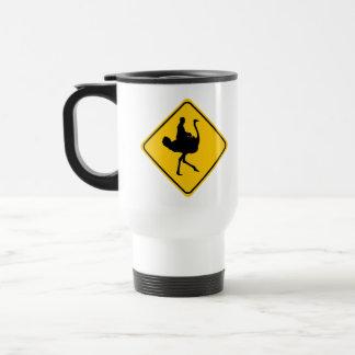 Ostrichback Rider Crossing Mug