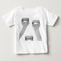 Ostriches Baby T-Shirt
