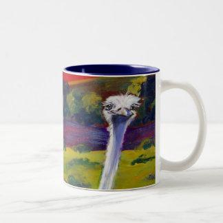 Ostrichland, USA  Solvang, CA Coffee Mug designed
