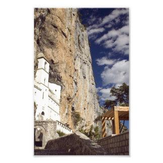 Ostrog Abbey. Montenegro Photo Print