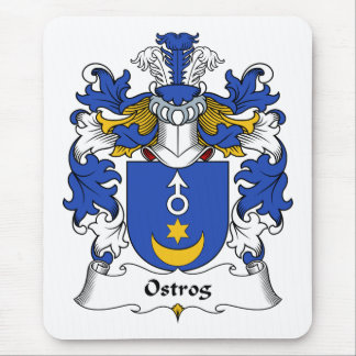 Ostrog Family Crest Mouse Pad