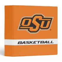 OSU Basketball 3 Ring Binder