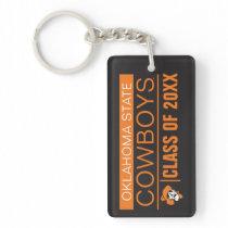 OSU Cowboys Alumni Keychain