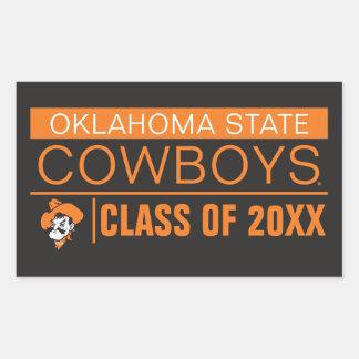OSU Cowboys Alumni Rectangular Sticker