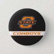OSU Cowboys Button