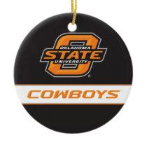 OSU Cowboys Ceramic Ornament