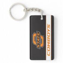 OSU Cowboys Keychain
