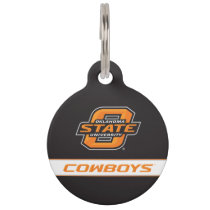 OSU Cowboys Pet ID Tag