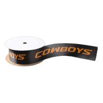 OSU Cowboys Satin Ribbon