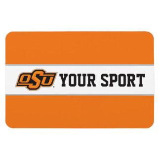 OSU Customize Your Sport Rectangular Photo Magnet